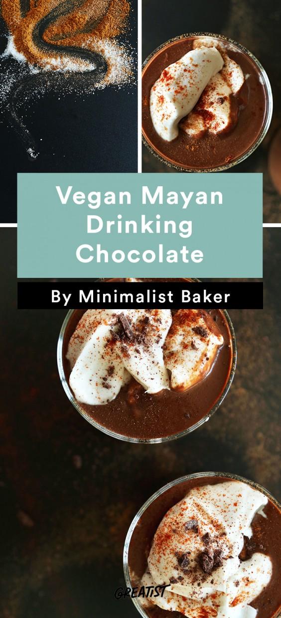 Not PSL: Mayan Drinking Chocolate
