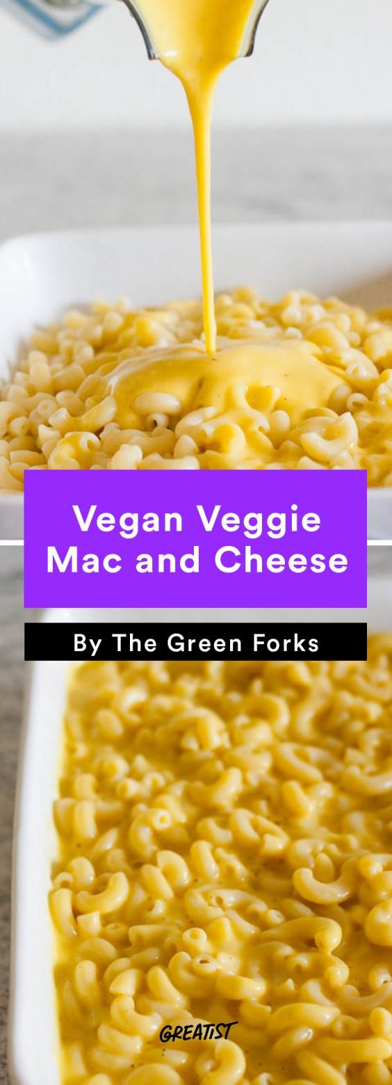 no dairy mac: Vegan Veggie Mac and Cheese