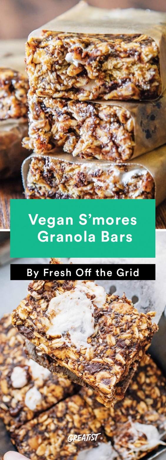 S'mores: Granola Bars