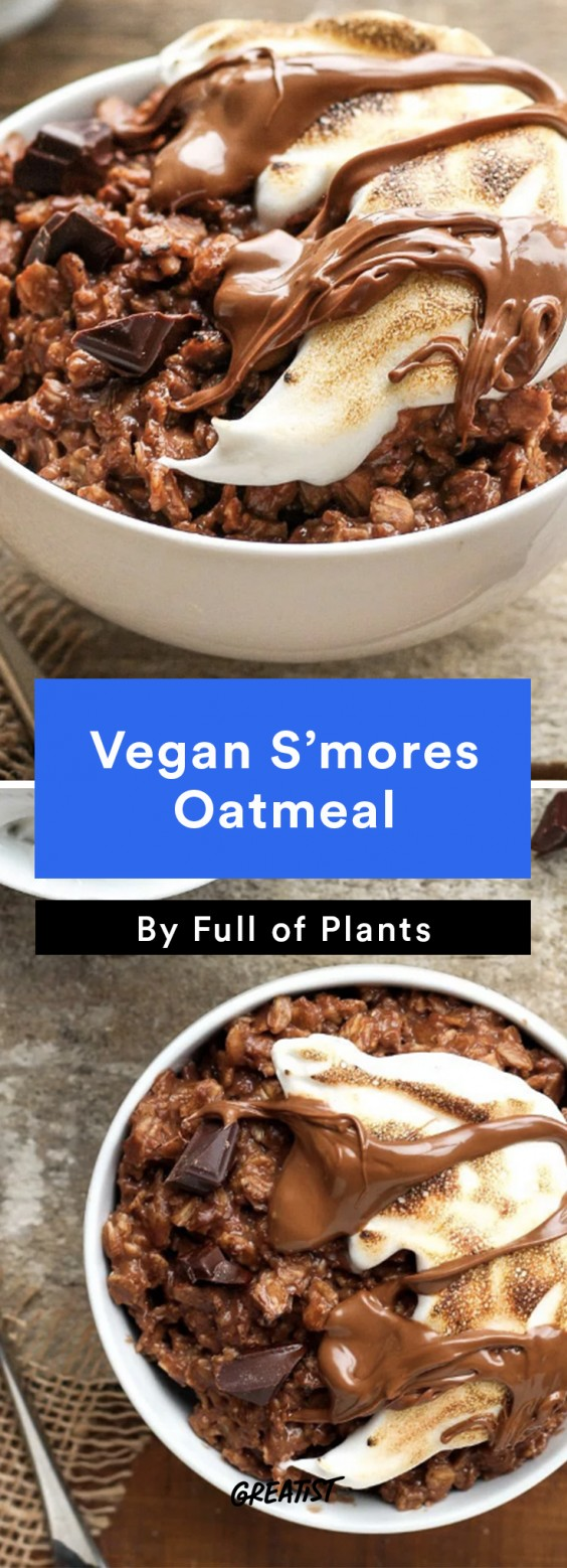 S'mores: Oatmeal