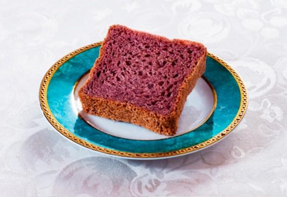 Healthy Food Art: Bread from Japanese café
