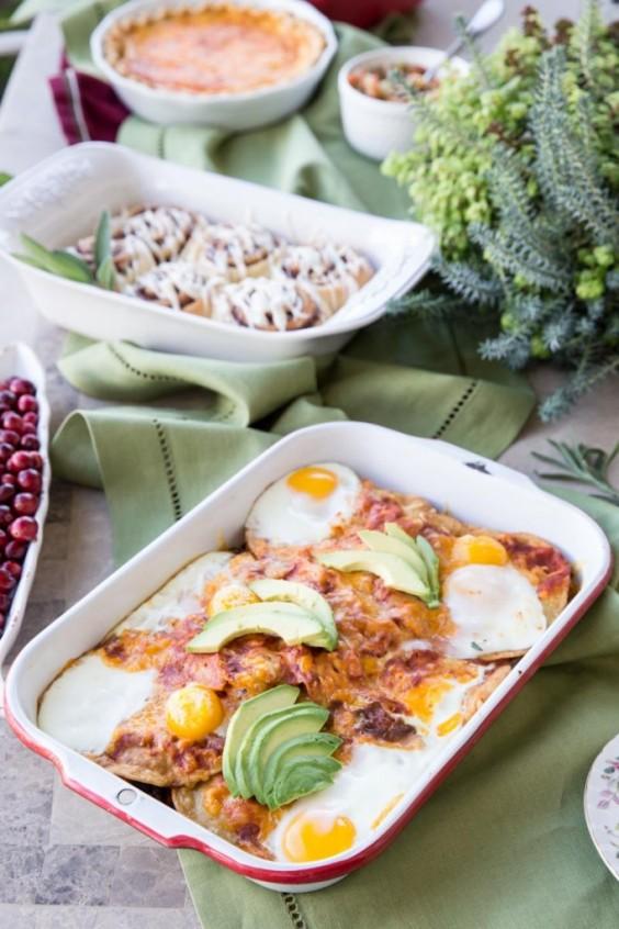 Healthy Casseroles: Huevos Rancheros