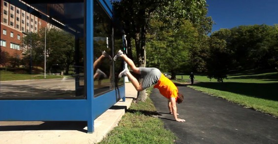 Greatist Workout of the Day: Wall Walk