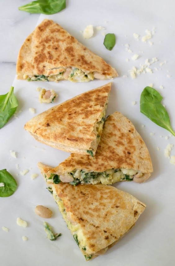Freezer Meals: Breakfast Quesadilla