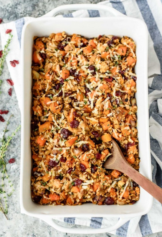 Healthy Casseroles: Chicken and Wild Rice