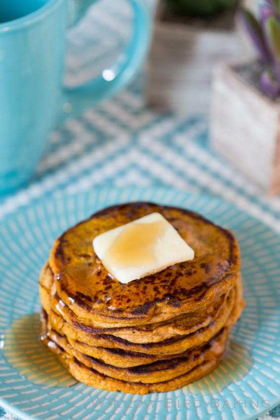 Protein Pancakes: Pumpkin