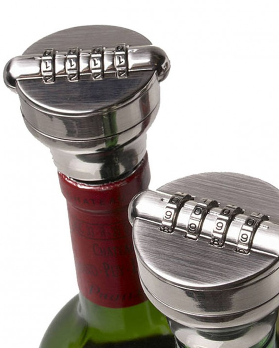 Lockey USA Combo-Cork Bottle Lock