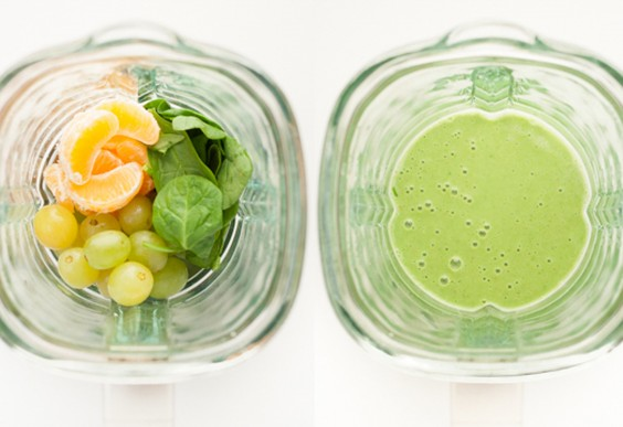 2. Winter Fruit Green Smoothie