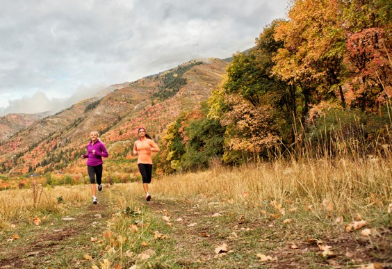 Thanksgiving Health Tips  Greatist Women Running Outdoors