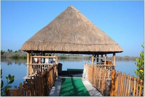 meditation hut
