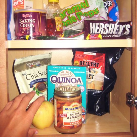 health Food Cabinet