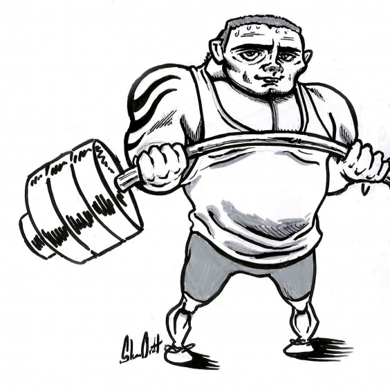 The Gym Weightlifter