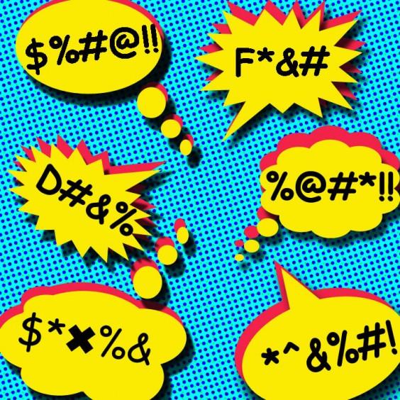 Swearing Illustration
