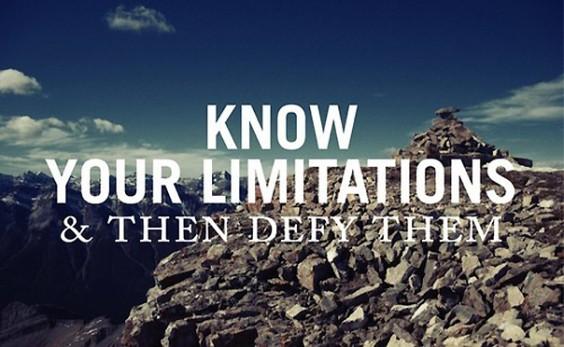 Defy Limitations
