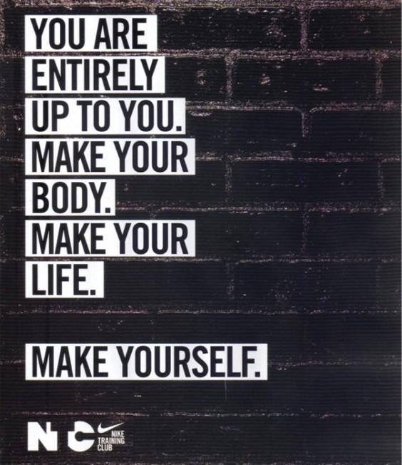 Nike Make Yourself