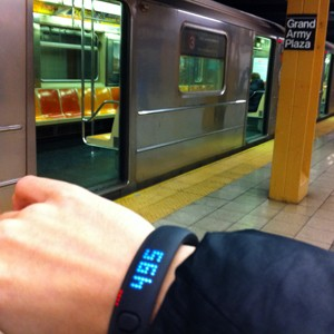 FuelBand Subway