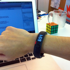 FuelBand Desk