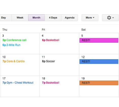 How to Make a Workout Plan (And Stick to It!) | Greatist