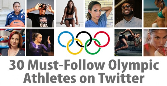 30 Must-Follow Olympic Athletes on Twitter