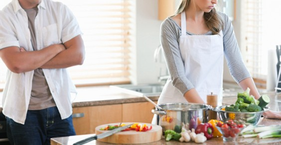Couple Trouble Kitchen