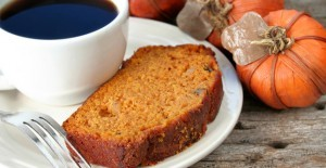 Pumpkin Bread and Coffee