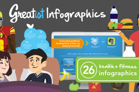 26 Killer Infographics to Improve Your Health and Fitness