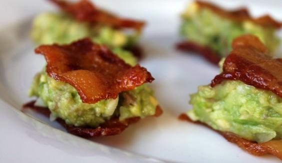 Bacon Guacamole Sammies