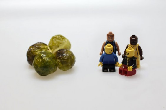 Brussels Sprouts and Legos