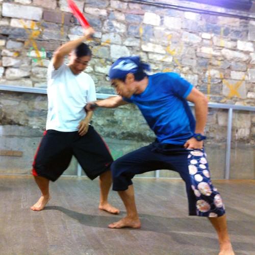 Samurai Sword Fighting