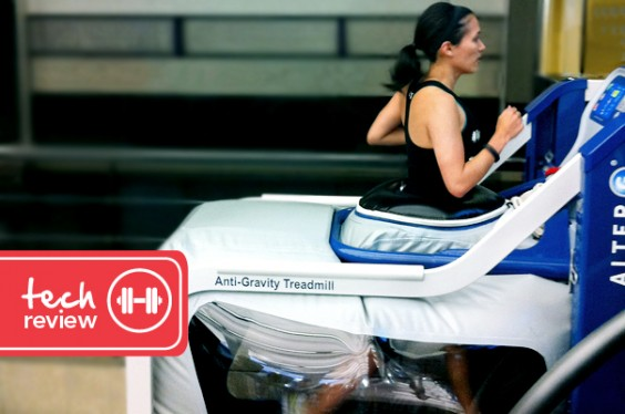 Tech Review - The AlterG Anti-Gravity Treadmill