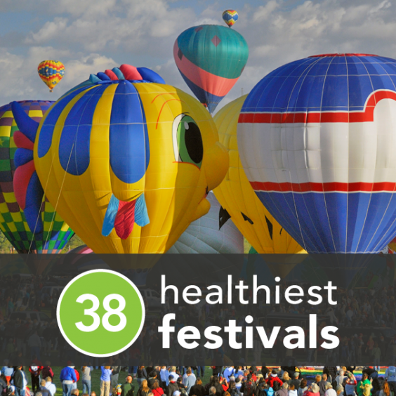 The 38 Fittest, Healthiest, and Happiest Festivals of 2013
