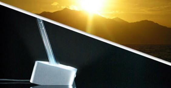 Lumawake iPhone Dock Sunrise