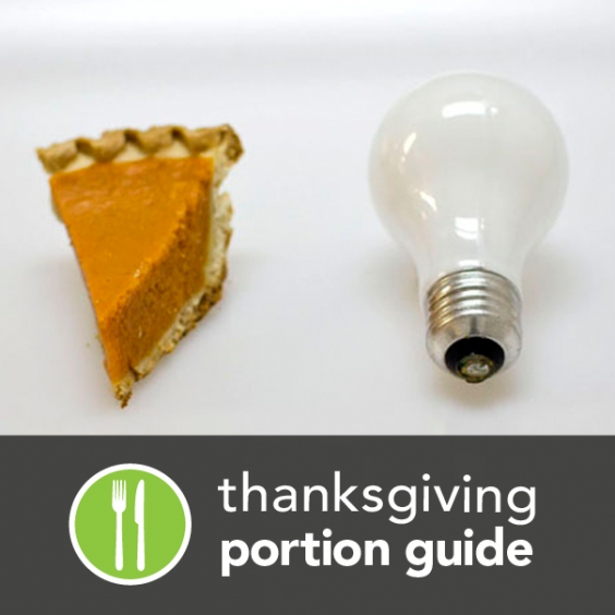 This Is One Serving - Thanksgiving Portion Guide