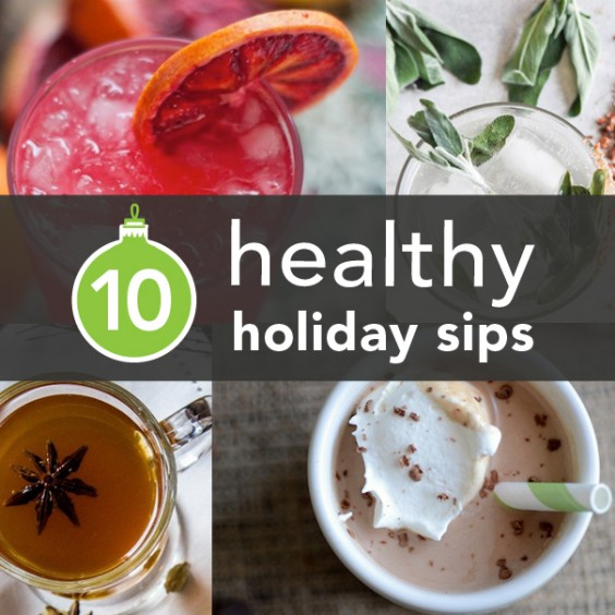 Holiday Drink Recipes: The 10 Best Healthy Holiday Drinks