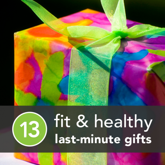 13 Last-Minute Gift Ideas for the Healthy Friends You Forgot