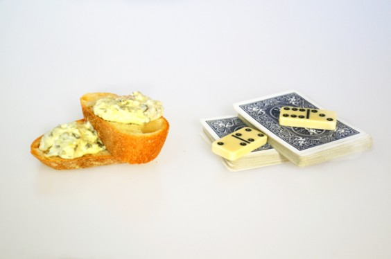 Bread and Dip - Cards and Dominoes