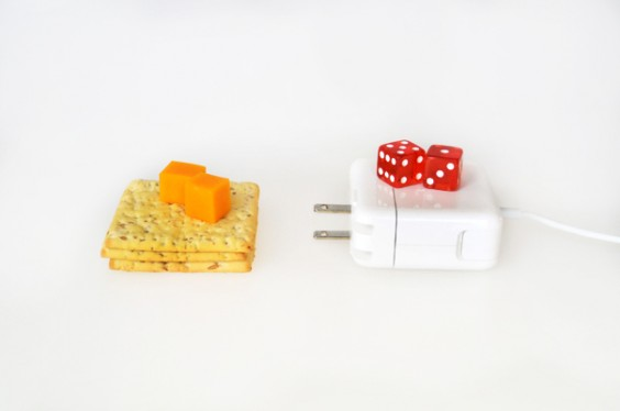 Cheese and Crackers - Dice and Charger