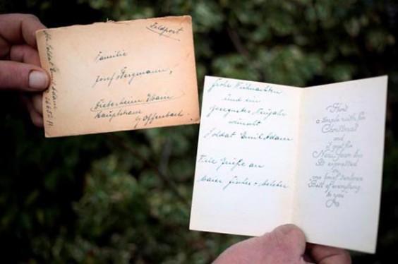 German Christmas Letters