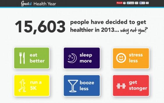 Greatist Health Year