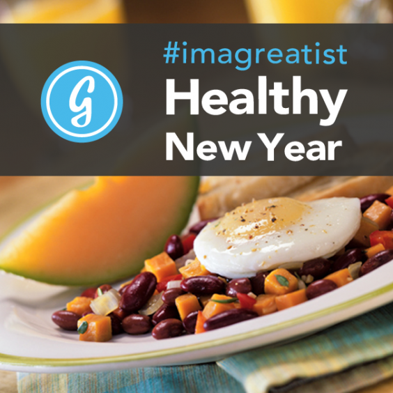 #imagreatist Healthy New Year