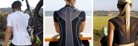 IntelliSkin Posture Apparel