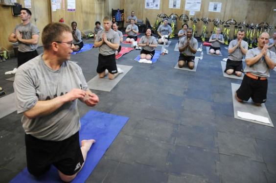 National Guard Yoga