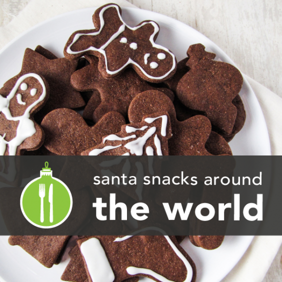 What Santa Eats Around the World