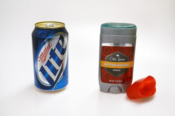 Beer and Deodorant