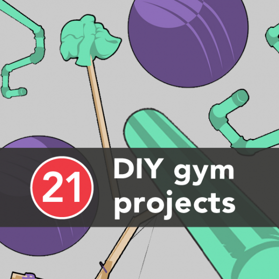 21 diy gym equipment projects to make at home greatist