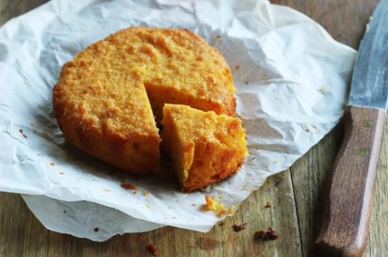 Mandarin Polenta Cake