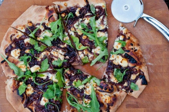 Meatless Monday Pizza