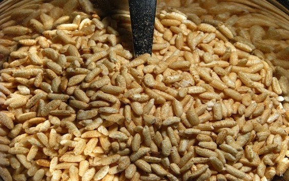 Puffed rice for weight loss