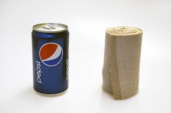 Soda and Ace Bandage