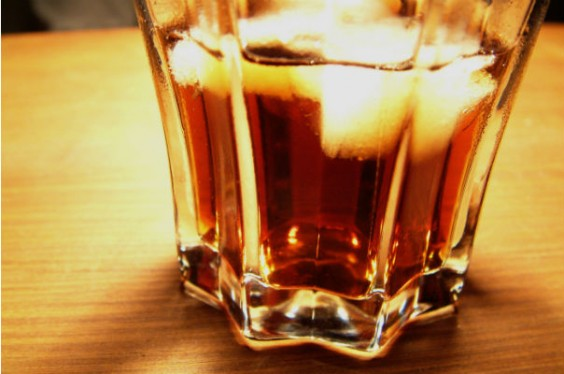 ice cube drink